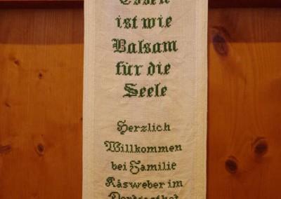 Stickband - Beim Anzinger